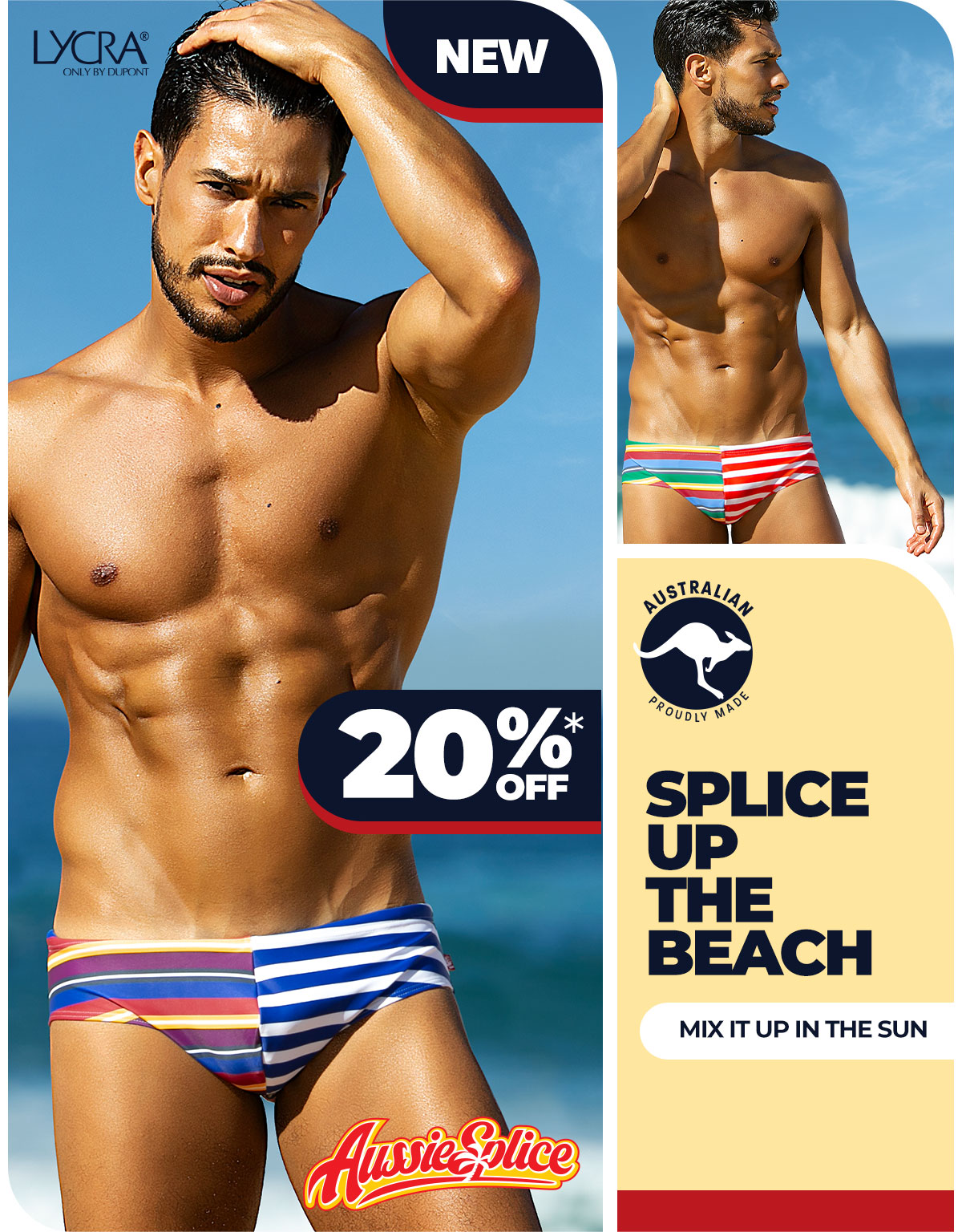 AussieSplice Blue Homepage Image
