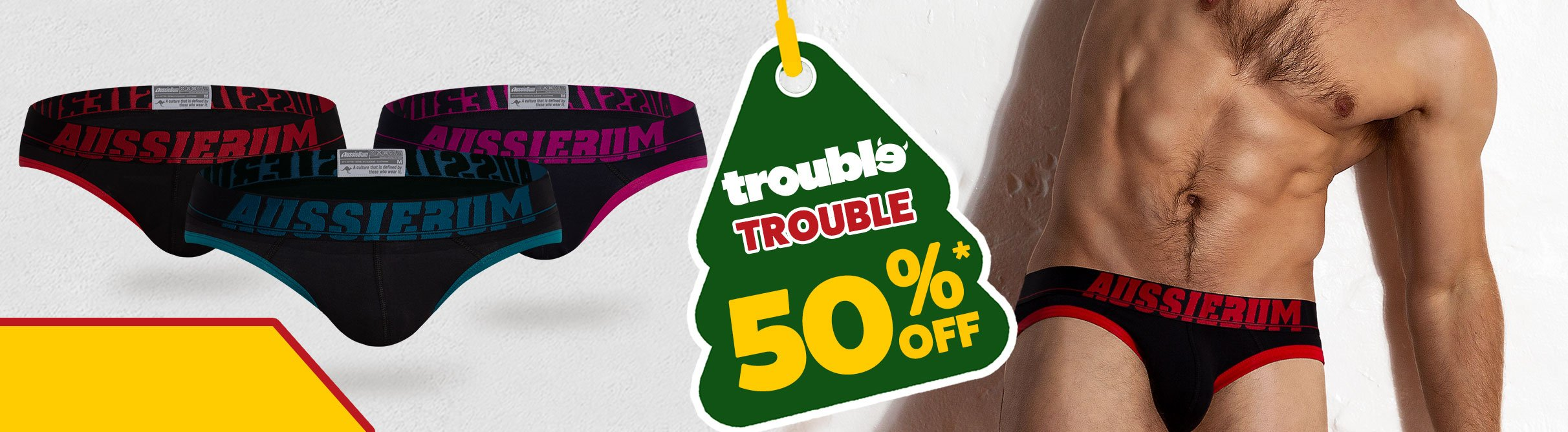 Trouble Red Homepage Image