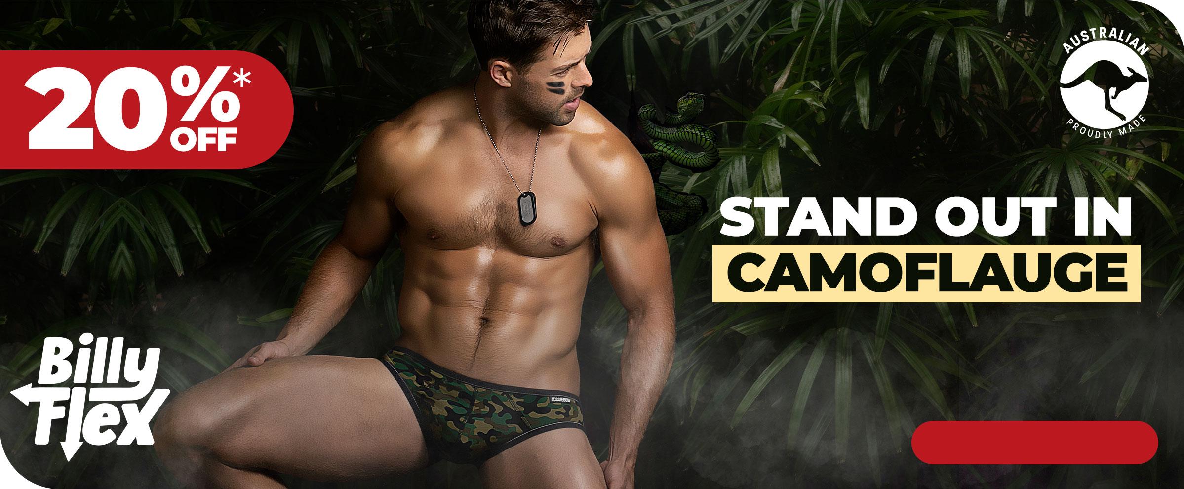 Billy Flex Camo Homepage Image