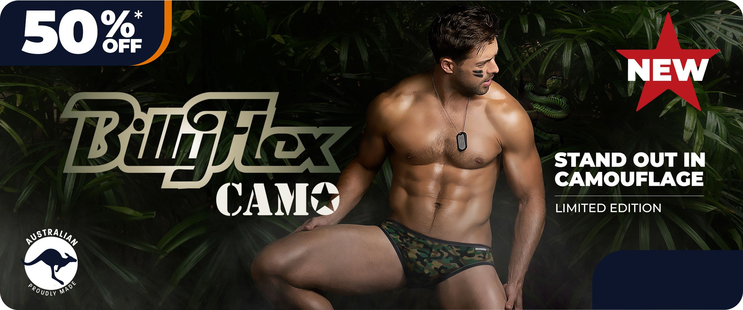 Billy Flex Camo Homepage Image