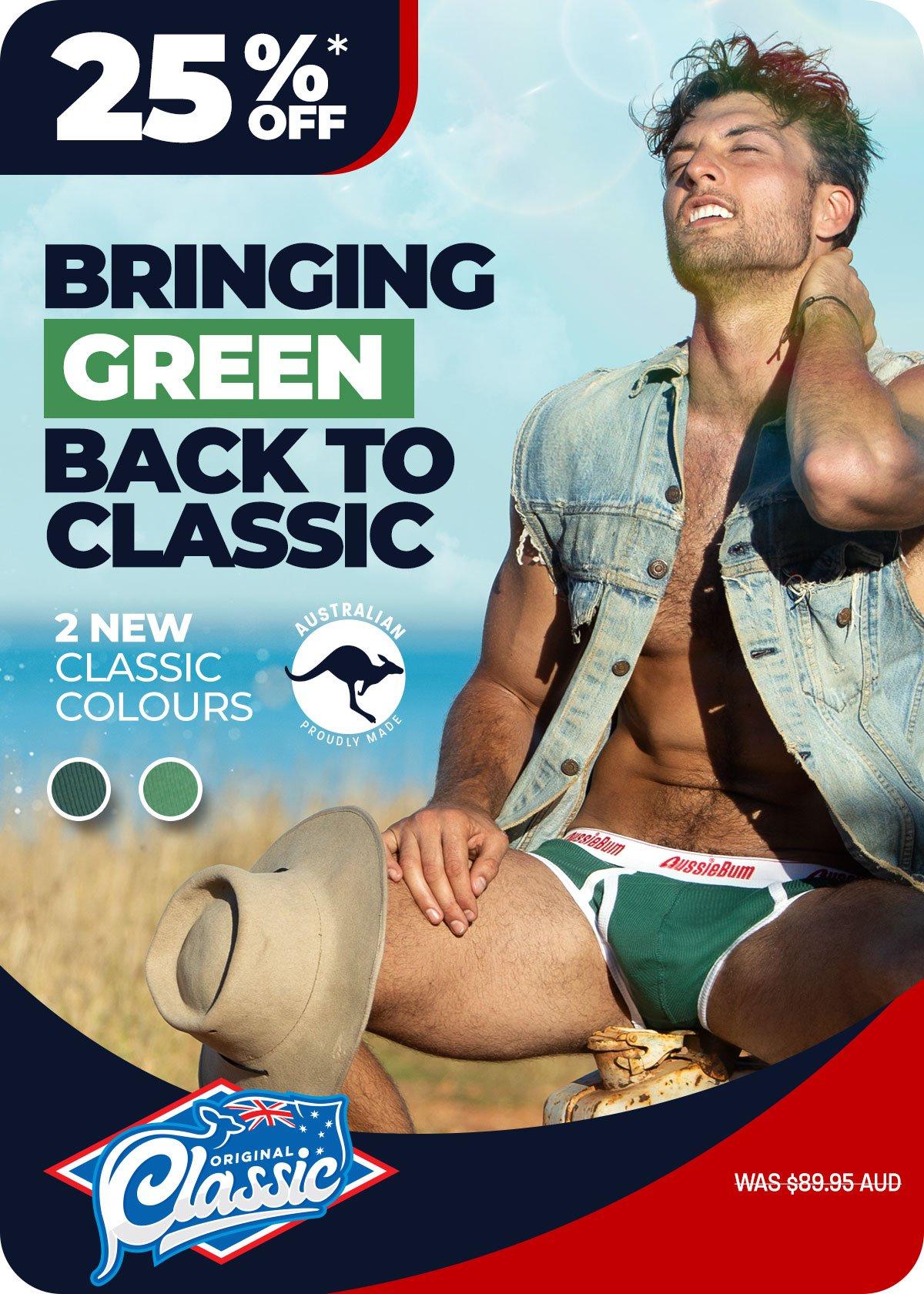 Classic Original Green Marle Homepage Image