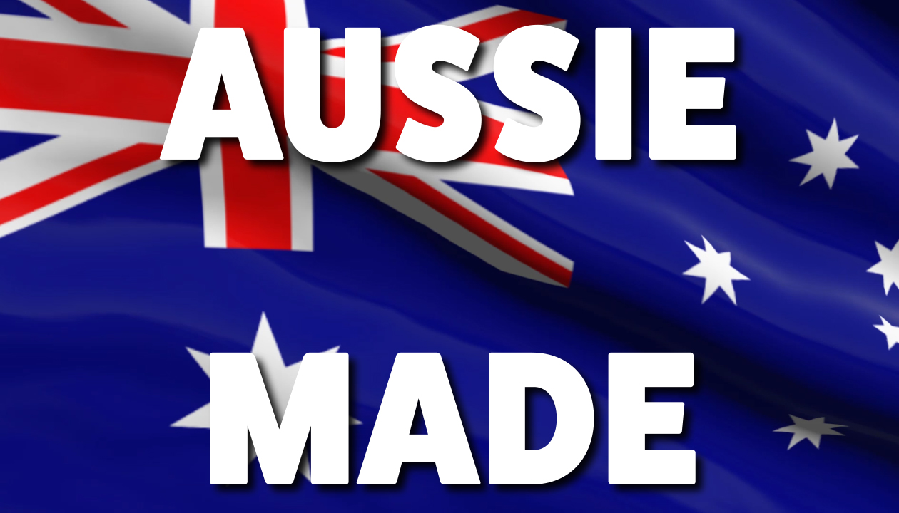 Proudly Australian Made Video Image